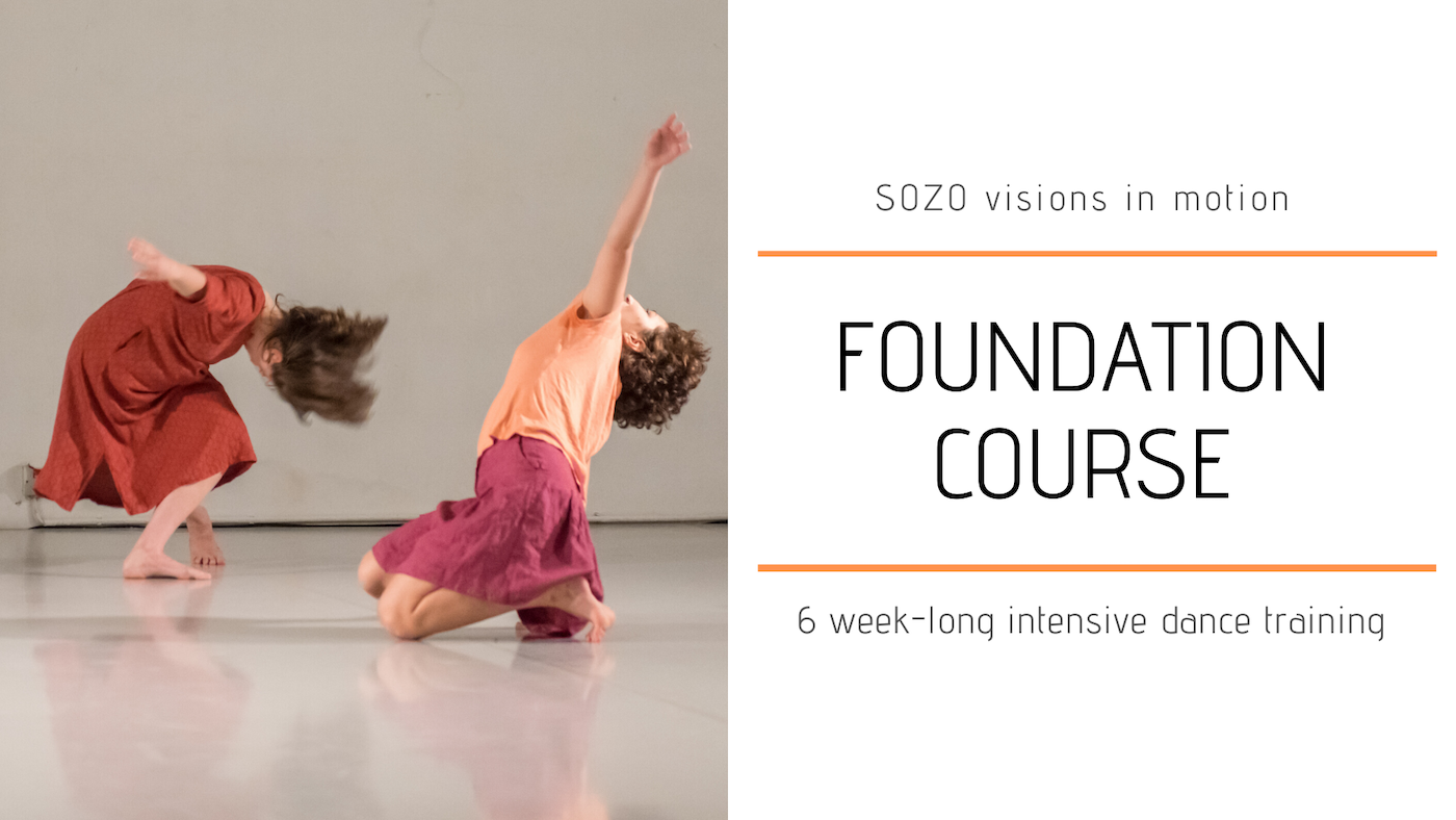 SOZO Visions In Motion 3 Year Professional Contemporary Dance Studies